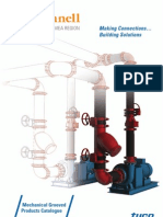 Grinnell Quick Up Pipes & Fittings for Piping Installation Catalog 2013