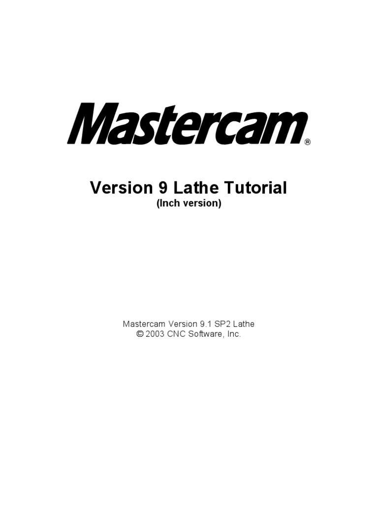 V9 1 Lathe Tutorial Change Pages (Inch) | Machine Tool