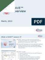 dave v3 overview presentation