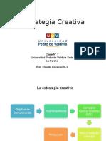 clase 8 Estrategia Creativa
