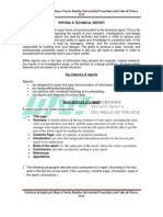 5. Writing a Technical Report