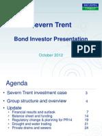 Bond Investor Presentation October 2012
