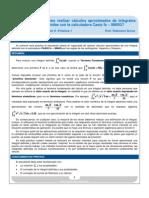 ¿Cómo realizar cálculos aproximados de integrales definidas con la calculadora Casio fx – 9860G