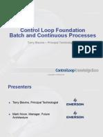 KP_Control Loop Foundation Batch & Continuous Processes