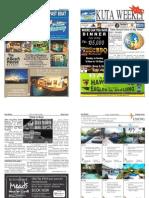 "Kuta Weekly-Edition 349 ""Bali's Premier Weekly Newspaper"""
