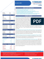 Equity Morning Note 16 August 2013-Mansukh Investment and Trading Solution