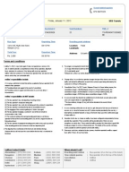 Beautiful RedBus Ticket. Document. Print Control Page