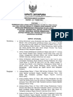 Ijin Lokasi PT. PNM Dari Bupati Jayapura