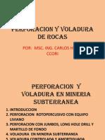 01 Perforacion y Voladura de Rocas (Actualizacion)