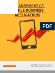 Measurement of Mobile Business Applications