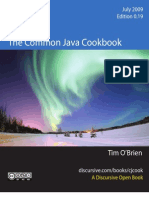 The Common Java Cookbook