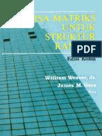 Analisa Matriks Untuk Struktur Rangka (Wiliam Weaver & Gere)