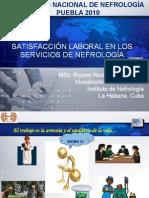 Satisfacción laboral en Nefrología1