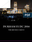 Durham EUDC Bid Document