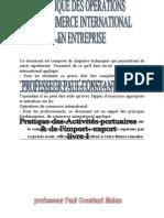Le Management Des Operations Portuaires