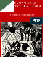 Dynamics of Architectural Form_Rudolf Arnheim