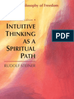 [Rudolf Steiner] Intuitive Thinking as a Spiritual Path, A Philosophy of Freedom (Classics in Anthroposophy)