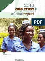 2012 Mvule Trust Annual Report
