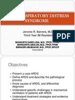 ARDS Case Presentation