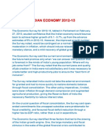 State of Indian Economy 2012