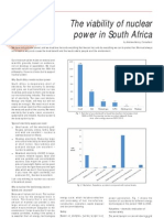 Viability of Nuclear Power in South Africa