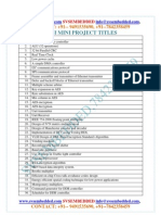 Latest_ Innovative_svsembedded_vlsi Based_mini_ Projects List 2012-13