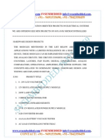 Latest Innovative Svsembedded Mini Eee Projets List 2013