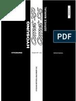 Hyosung GT125 & GT250 Workshop Manual