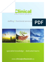 Clinical Professionals Brochure
