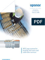 Plumbing Installation MLCP