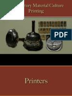 Reading & Writing - Printing