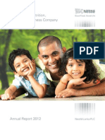Nestle Annual Report 2012
