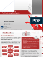 Intelligent Data Services - Susan_Brownlie