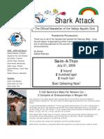 February-March 2009 Shark Attack Newsletter