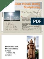 Tallest Hindu Deity Sculptures