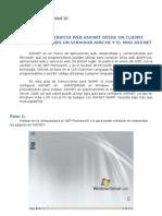 Consumir Un Servicio Web ASP.NET Usando Apache