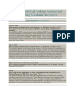 List of IEEE Standards With Details