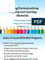 Materials Devt and Rules in Translation