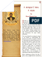 Astrological Chakra Analysis b w