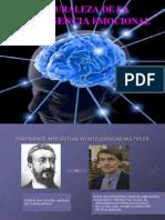 Naturaleza de La Inteligencia Emocional