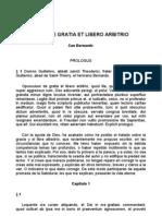 Claraval San Bernardo Abad de - La Gracia y el libre albedrío