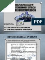 Expoheterogeneidad y Extensibilidad en Los Sd