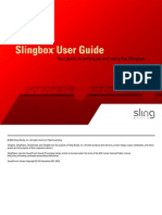 SlingBox Classic User's Manual