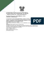 PORTARIA N 034  INQUERITO  DECRETAÇÃO ESTADO CALAMIDADE PUBLICA  SAUDE