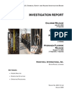 CSB_Investigation Report_Honeywell_Hazardous Chemical Releases (2003)