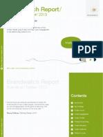 Brands on Twitter Report 2013