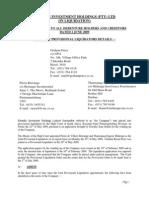 20090602 Liquidation First Circular