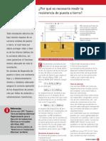 Porque Es Necesario Medir La Resistencia de Puesta a Tierra PDF