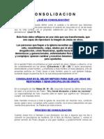 Manual de Consolidación para padrinos