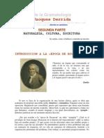 6 - De la Gramatología - 2da parte